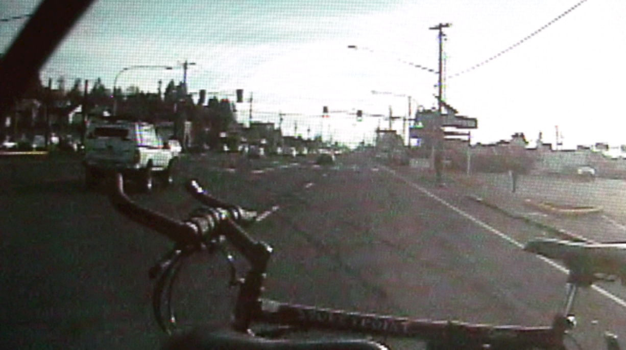 C-Tran on Thursday released video footage of the moments leading up to the fatal crash on Highway 99 in Hazel Dell on Tuesday.