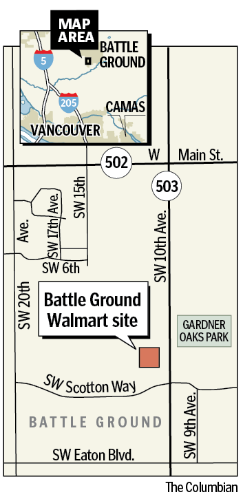 Retail Giant Walmart Planting Its Footprint In Battle Ground