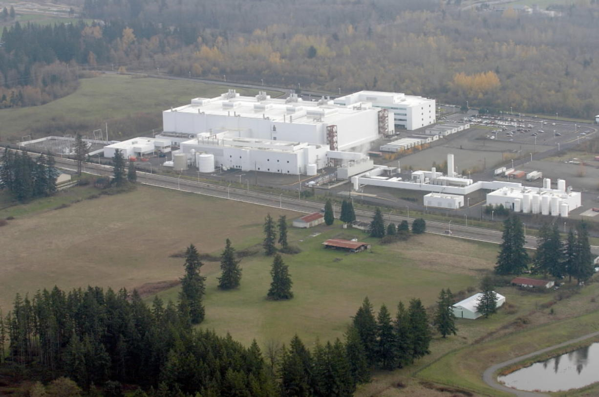 WaferTech in Camas is one of Clark County's biggest employers.