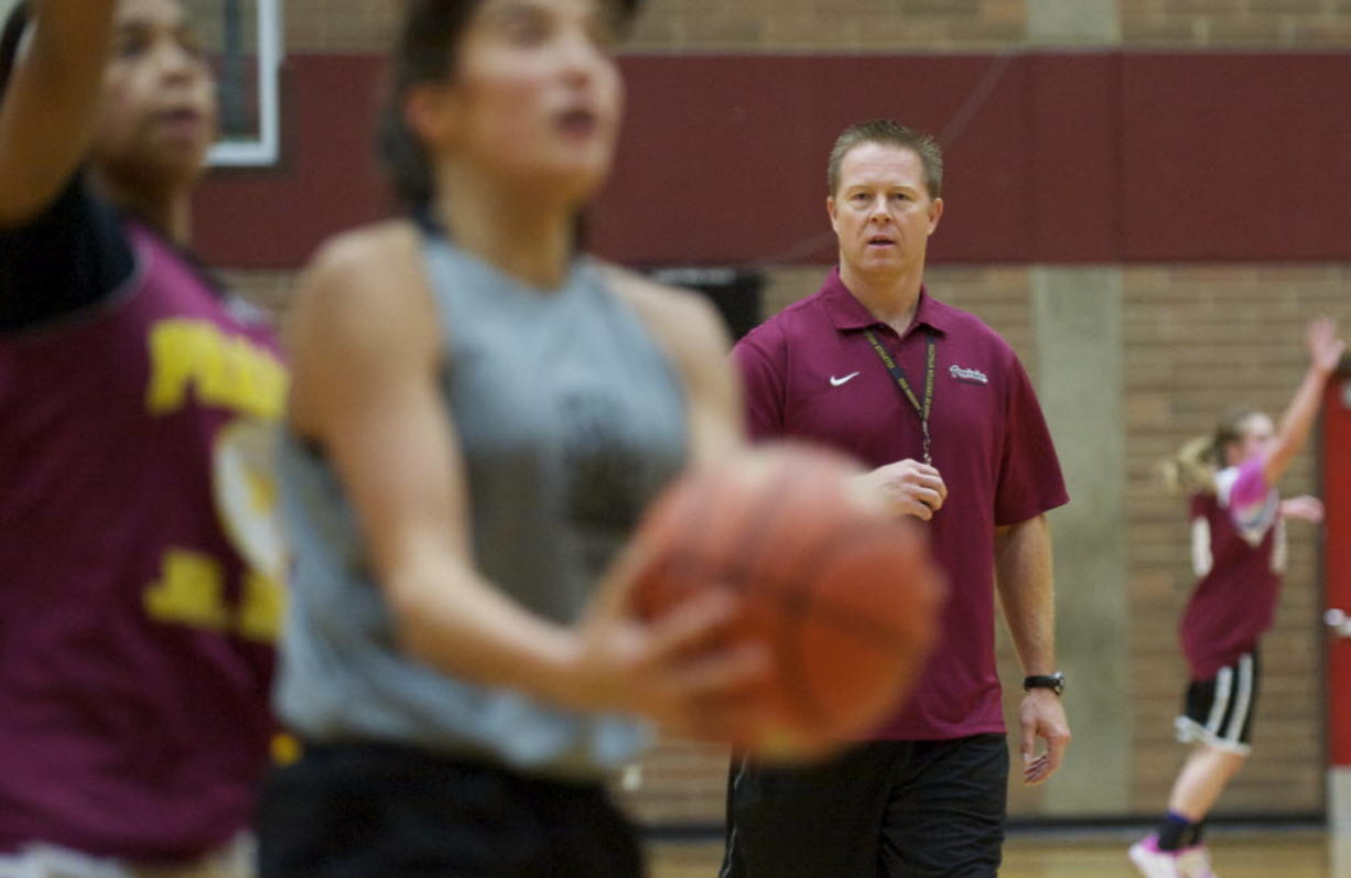 Mike Smith was girls basketball coach at Prairie High School for just one season.