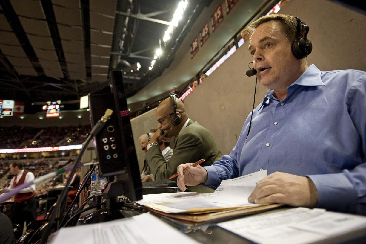Blazers radio play-by-play man Brian Wheeler is in his 14th season as voice of the team and 28th year as a broadcaster.