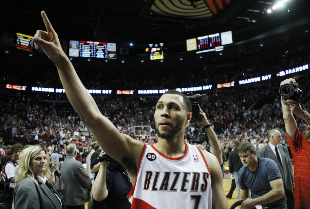 Brandon Roy gave the Portland Trail Blazers' fans so much to cheer about in his five seasons.