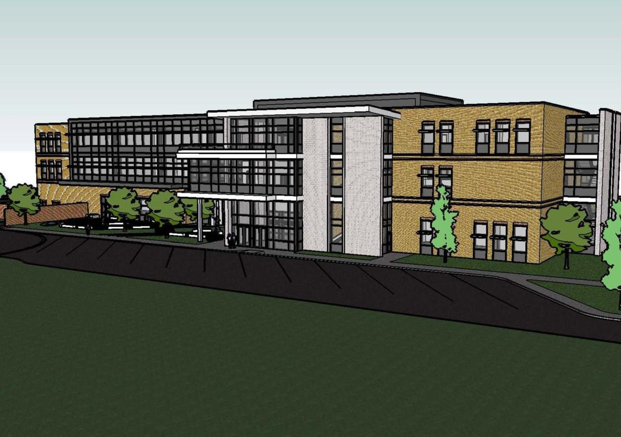 Evergreen Public Schools' new Health and BioScience Academy will serve 500 high-school students at full capacity. It will be adjacent to Southwest Washington Medical Center.