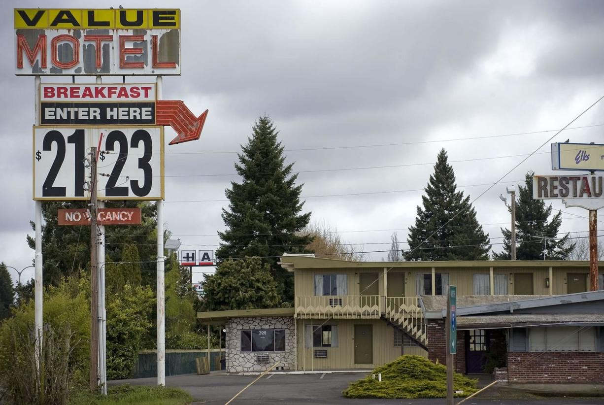 The Value Motel in Hazel Dell.