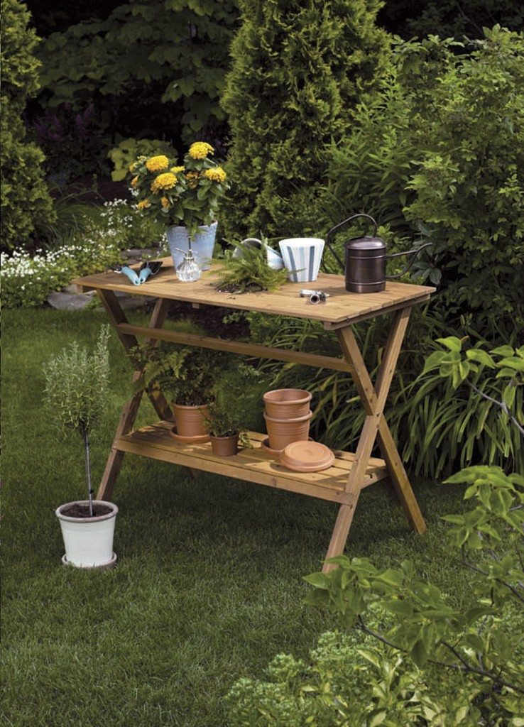 Potting Benches Can Make Gardening More Efficient Better Organized