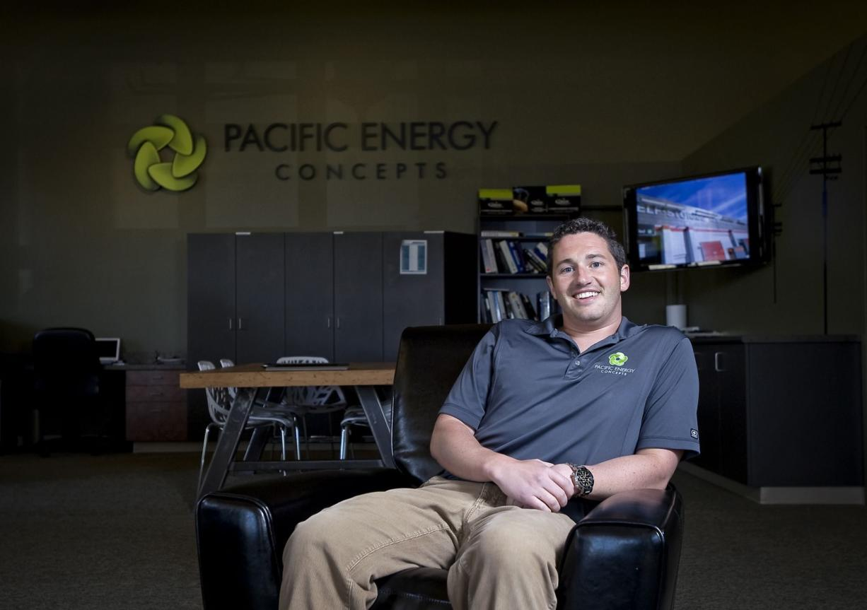Keith Scott, president and CEO of Pacific Energy Concepts, said he hopes to double his company's annual revenue this year.