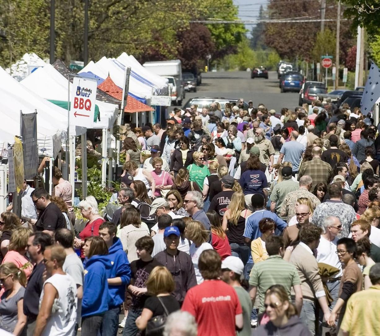 The Washington State Liquor Control board announced Wednesday that the Vancouver Farmers Market in downtown Vancouver likely will be allowed to have samples of beer and wine.