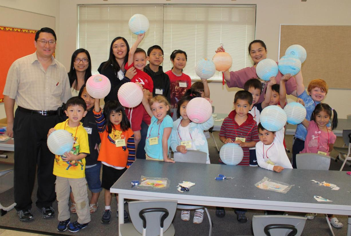 Some 60 children participated in the American West Vancouver Chinese School Summer Cultural Camp.