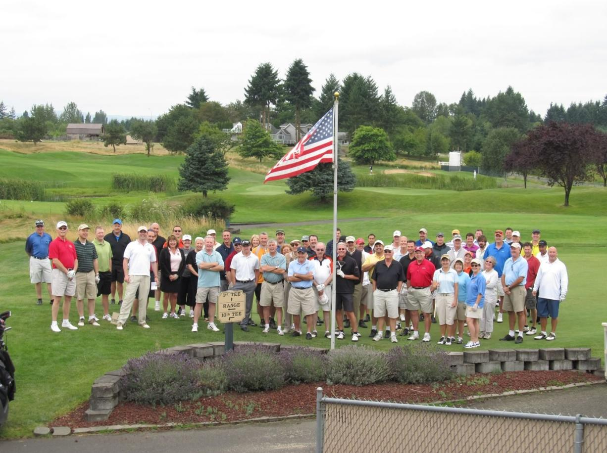In August, Tri-Mountain Golf Course hosted upwards of 70 Rotarians and guests who golfed as a fundraiser to fight human sex trafficking.