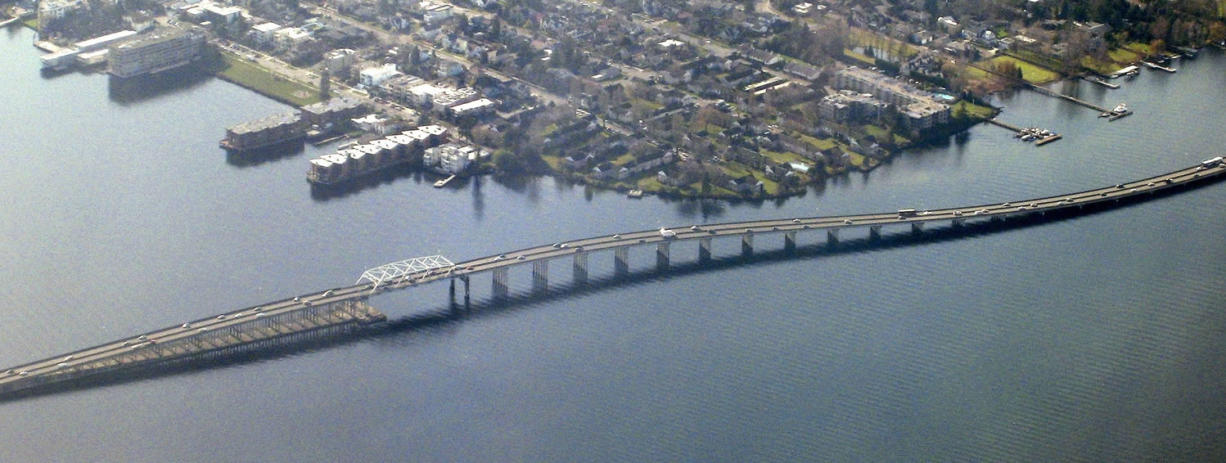 The SR 520 bridge across Lake Washington in Seattle introduced the first variable bridge tolls in June.