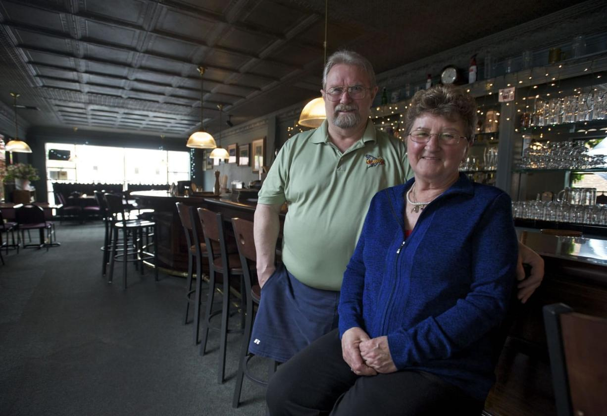 Larry and Ana Pratt, owners and founders of the Salmon Creek Brewery & Pub,  are retiring and will sell their the business after 18 years of operation. David and Arlene Nunez, owners of By the Bottle, will take over the brewery May 1.