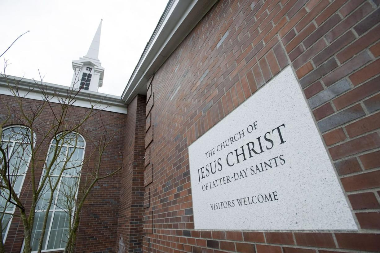 The Mormon church off state Highway 502 will be the headquarters of the new Ridgefield Stake. A stake is a collection of congregations. The Church of Jesus Christ of Latter-day Saints has five stakes in Clark County. (Natalie Behring/ The Columbian)