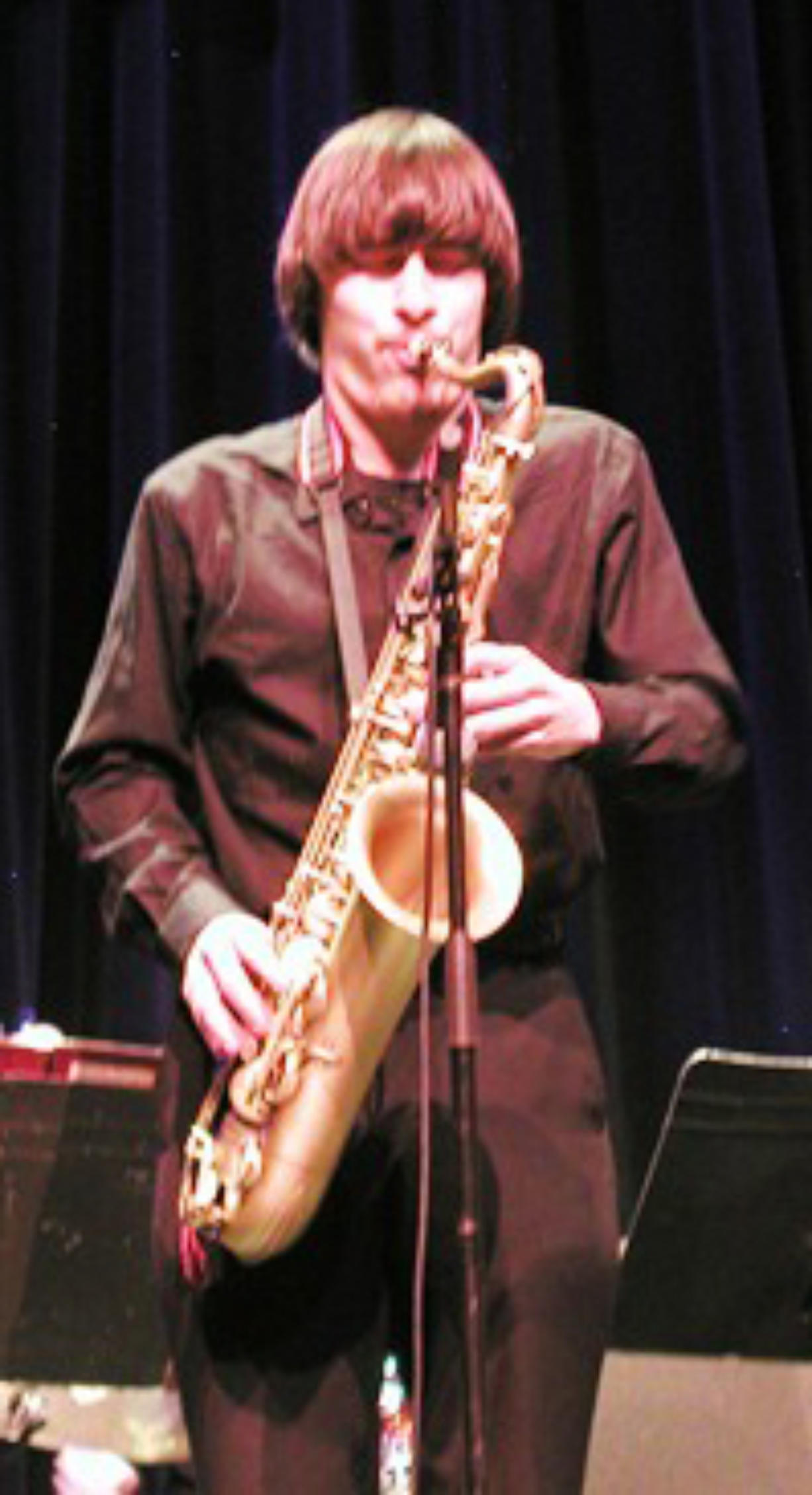 Central Park: Clark College Jazz Ensemble tenor saxophonist David Floratos received an outstanding soloist award from the Eau Claire Jazz Festival and a special citation for outstanding musicianship from the Greeley Jazz Festival.