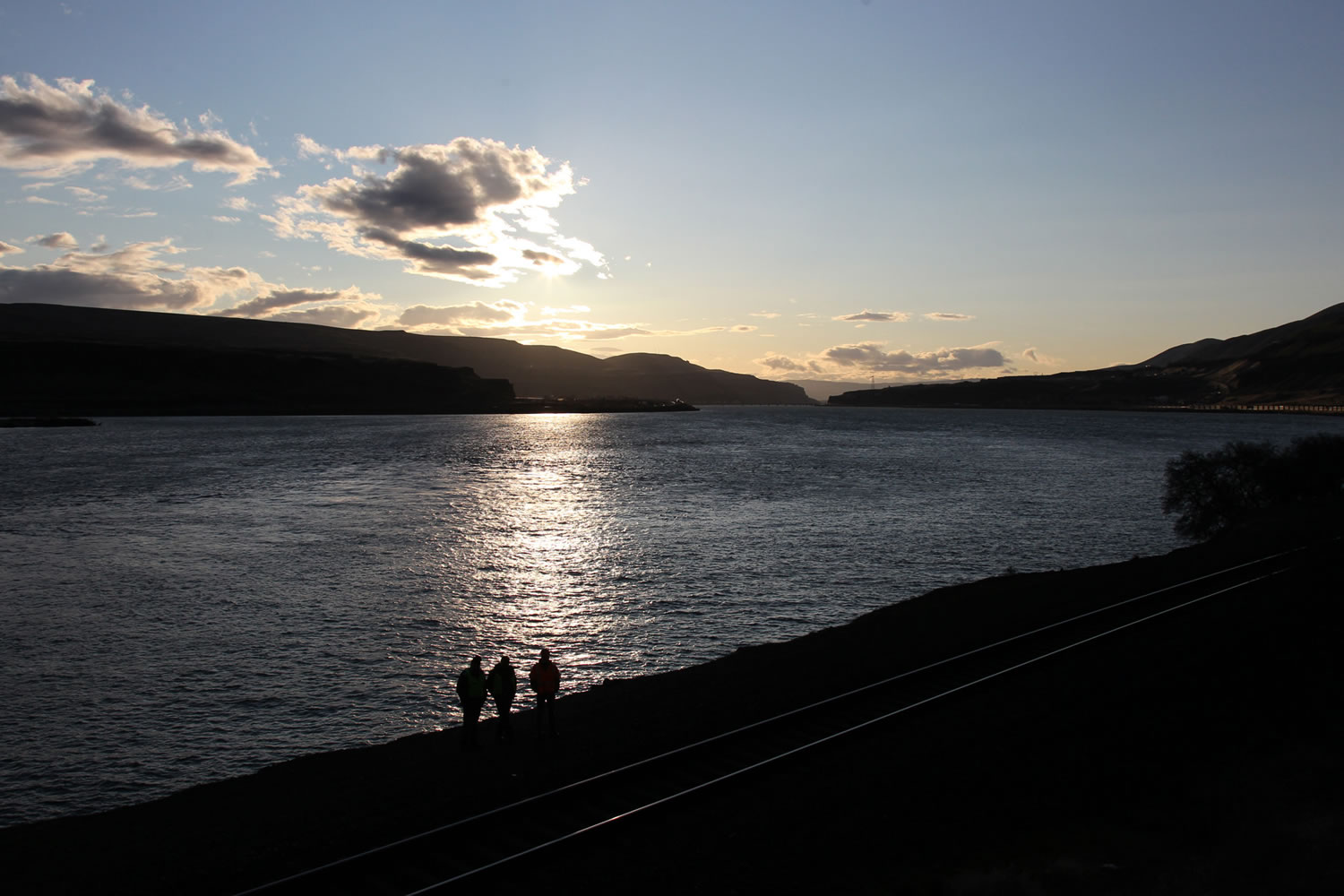 """The Columbia River Gorge: """"We didn't know areas like this existed in America,"""" visitors from the East told BNSF Railway spokesman Gus Melonas."""