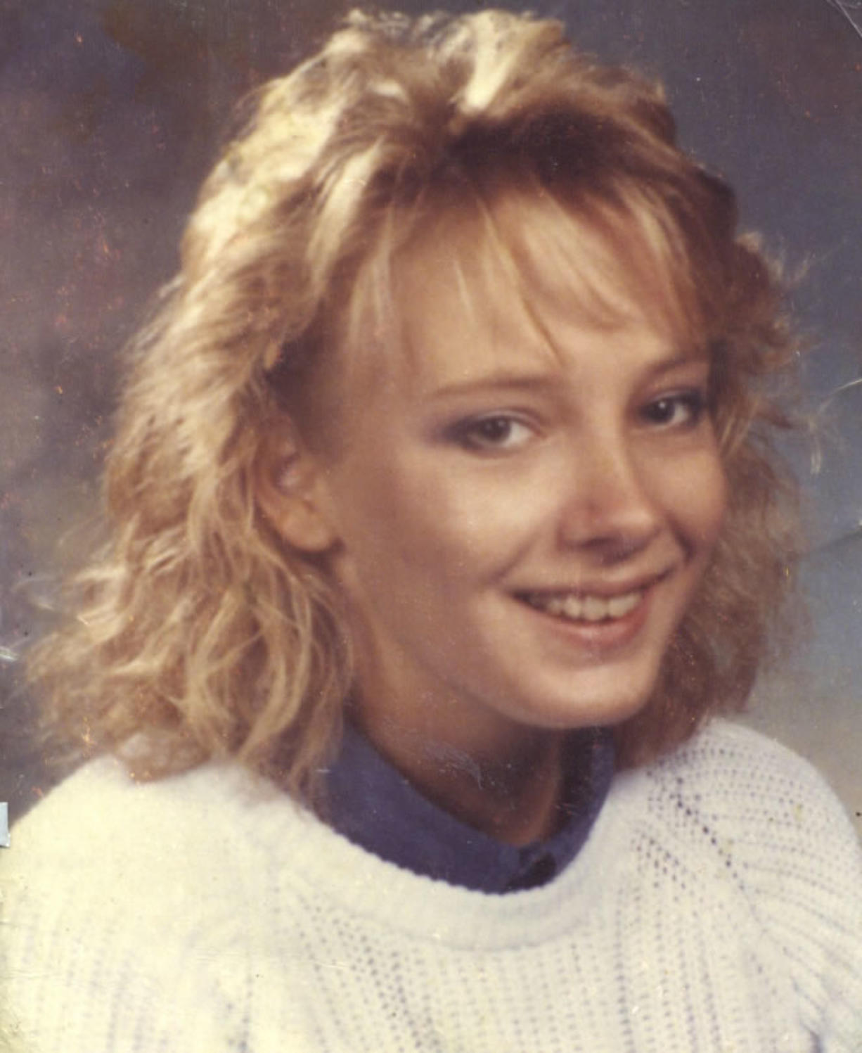 Kimberley Kersey left school on foot in March 1987.