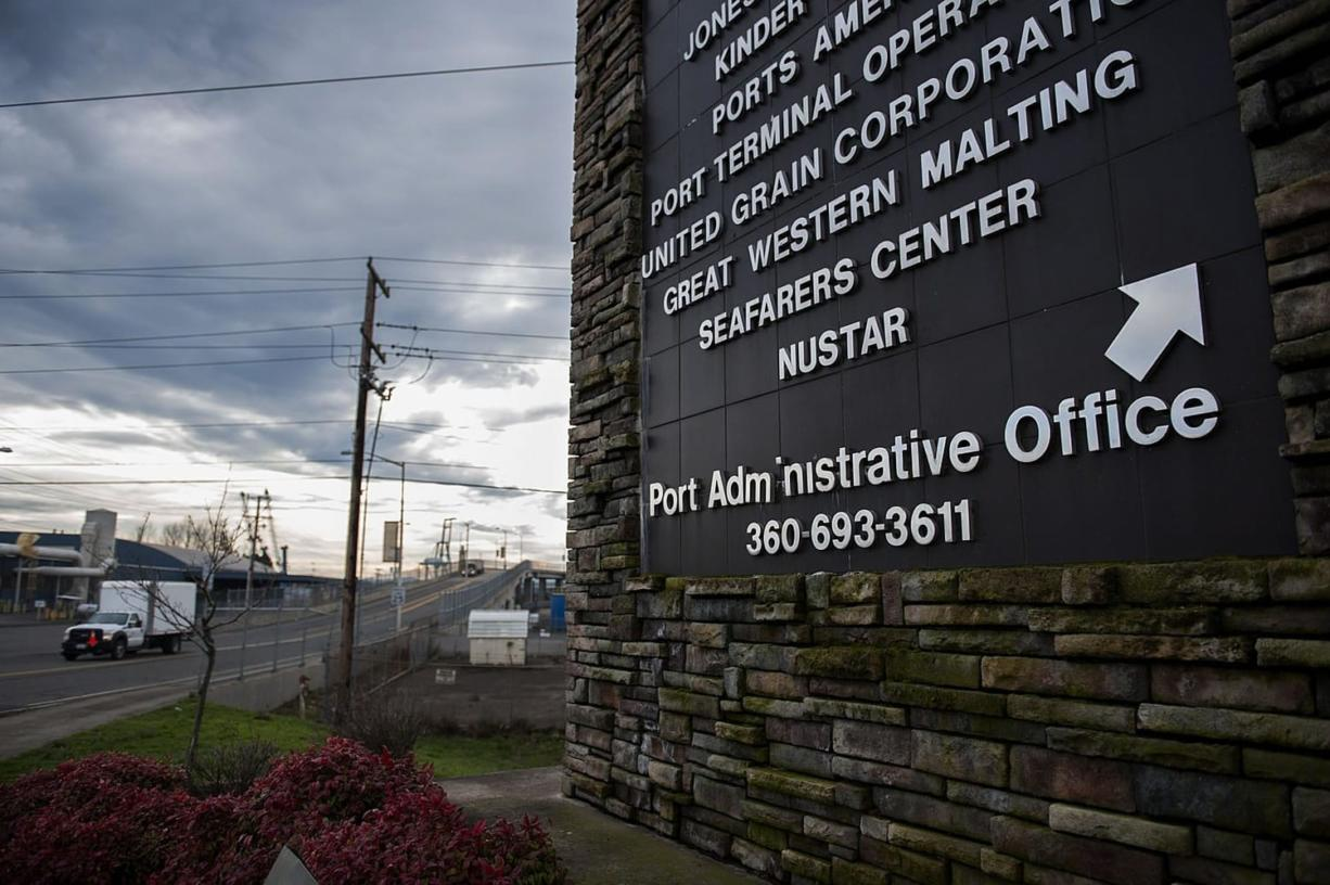 NuStar Energy, which is currently looking to handle crude oil and/or ethanol at its terminal, is located on Harborside Drive at the Port of Vancouver.