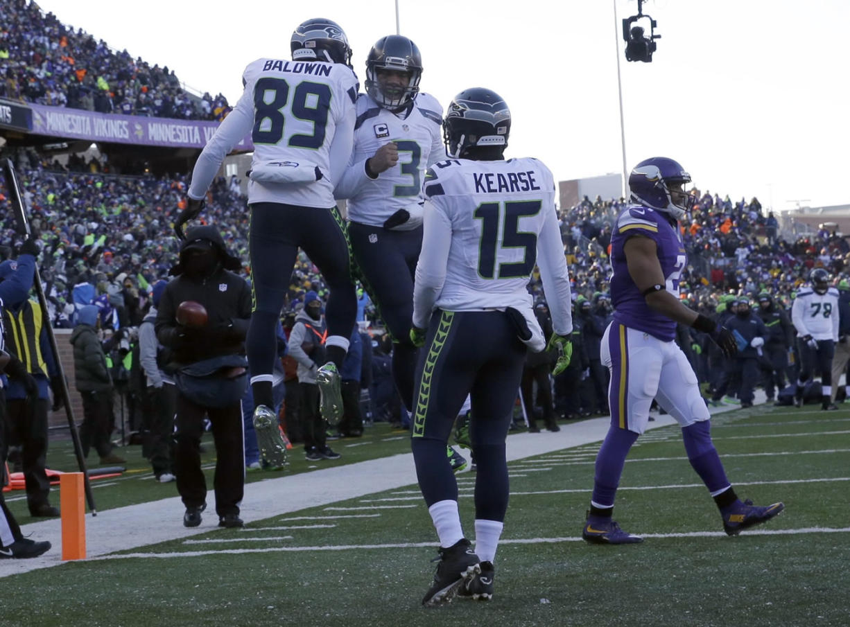 Seahawks Move On In The Postseason Columbian Com