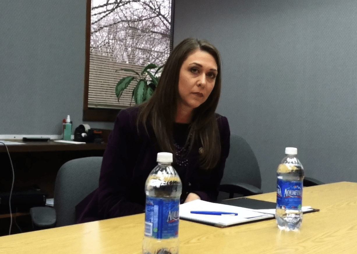 U.S. Rep. Jaime Herrera Beutler talked with The Columbian editorial board on Mon., Jan.