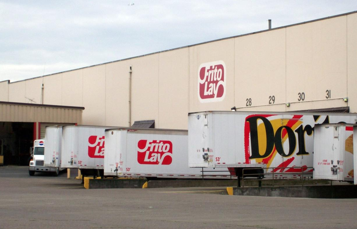 Frito-Lay in Vancouver is seeking a total of $585,000 in water bill credits over the next three years.