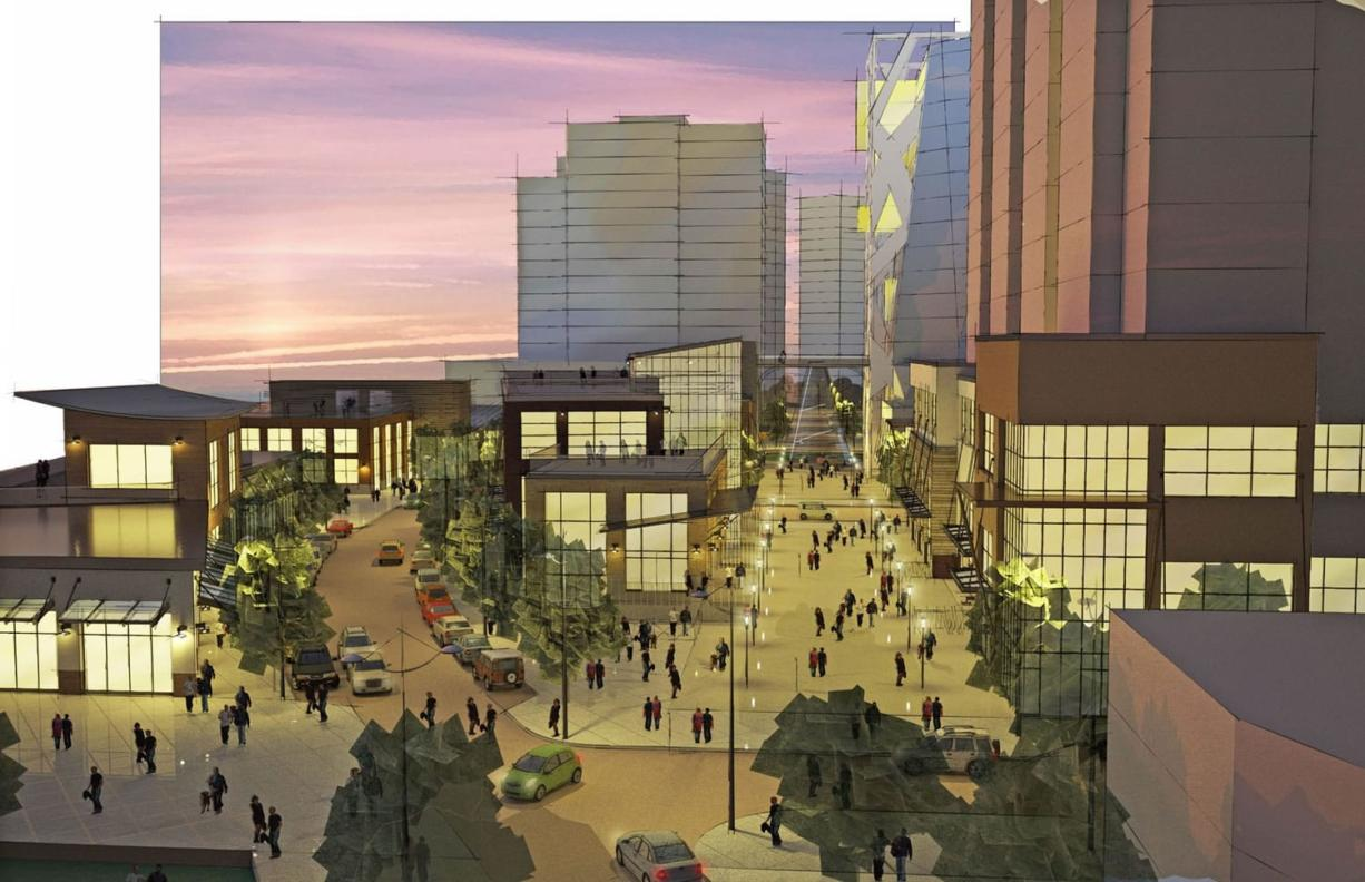 Architects at Twist Architectural have produced new renderings of how the Boise Cascade site might be redeveloped.