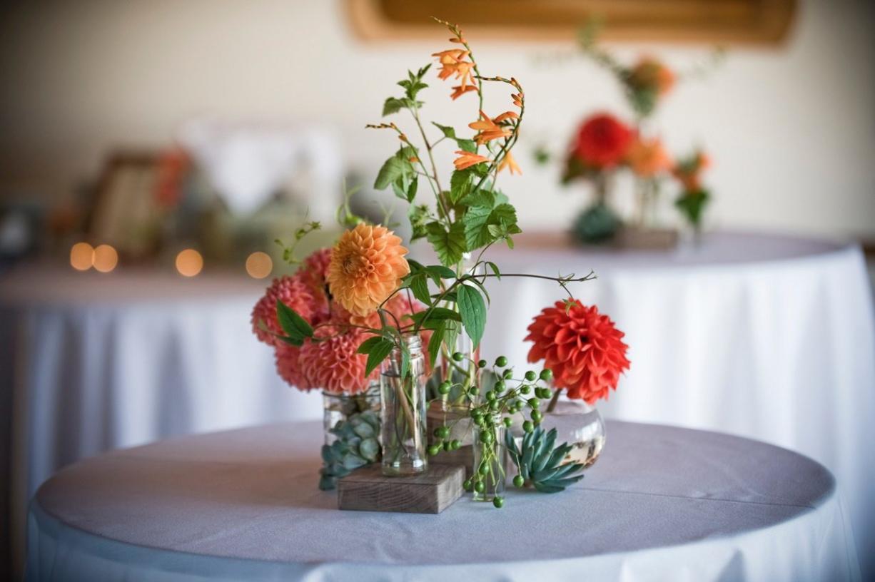 Succulents Lend Rustic Elegant Chic To Modern Weddings The Columbian