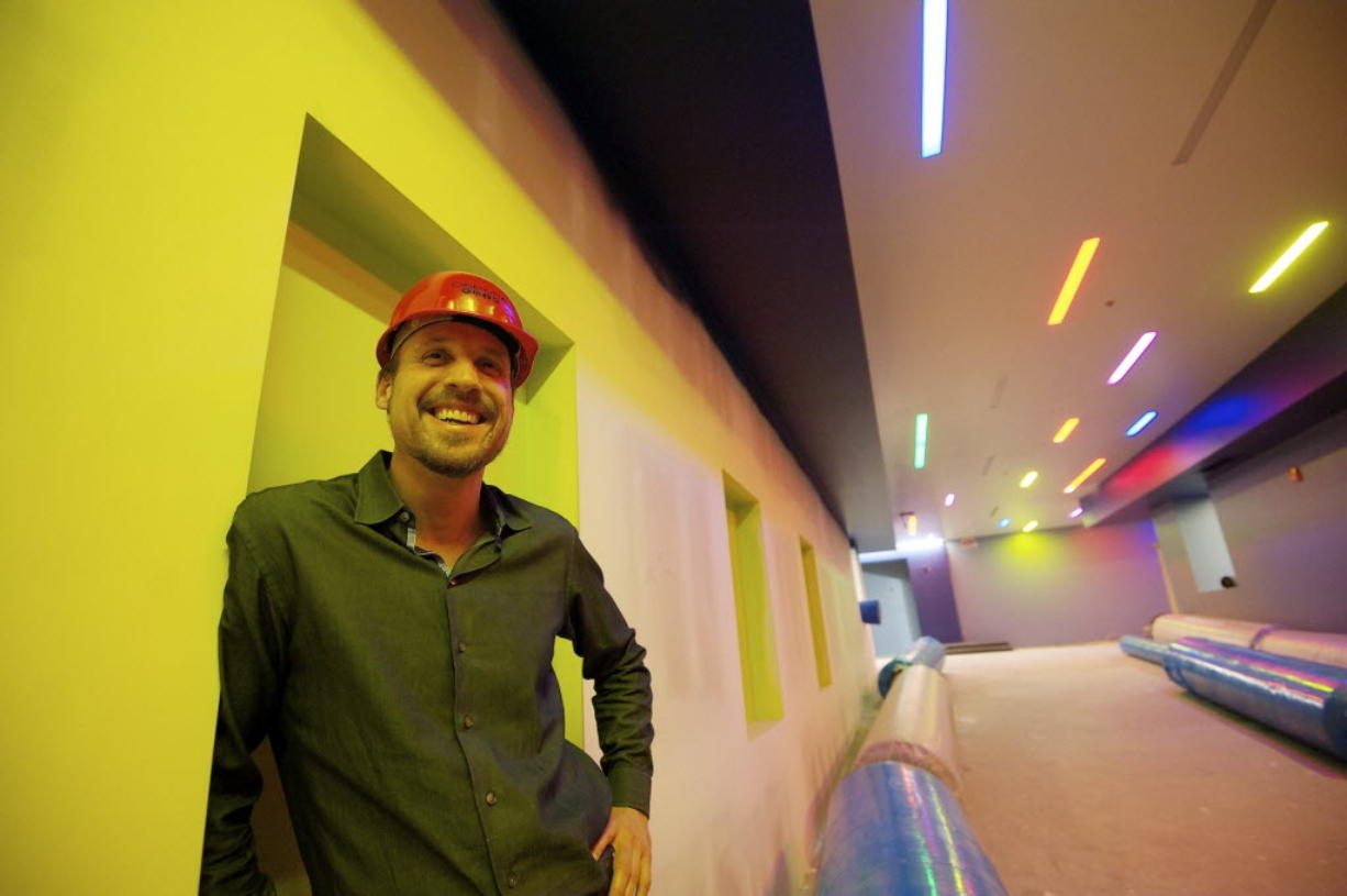 Cinetopia owner Rudyard Coltman says his newest venue, at Westfield Vancouver mall, will begin a phased opening on Friday, June 1.
