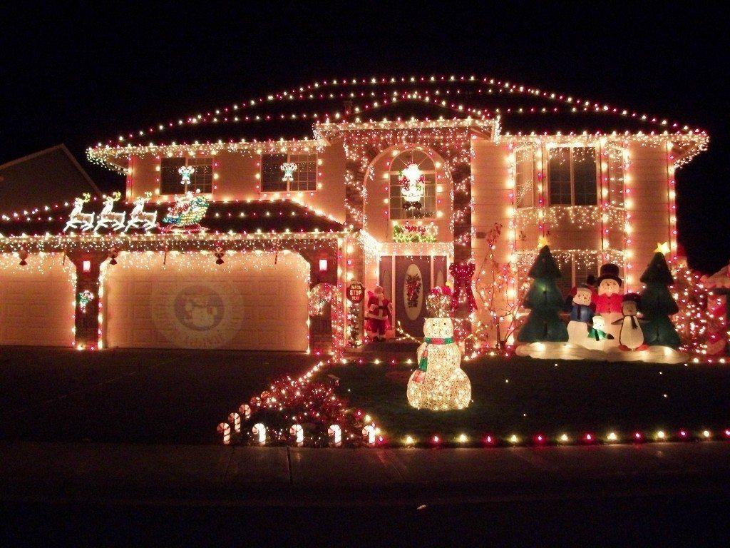 Neighborhood Christmas light displays   The Columbian