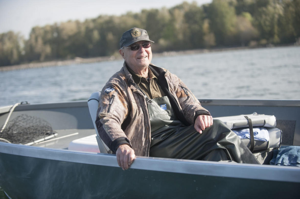 """Don't fall victim to every little (fishing) fad. Find what works for you and stay with it."" said Larry Snyder. (Natalie Behring/The Columbian)"