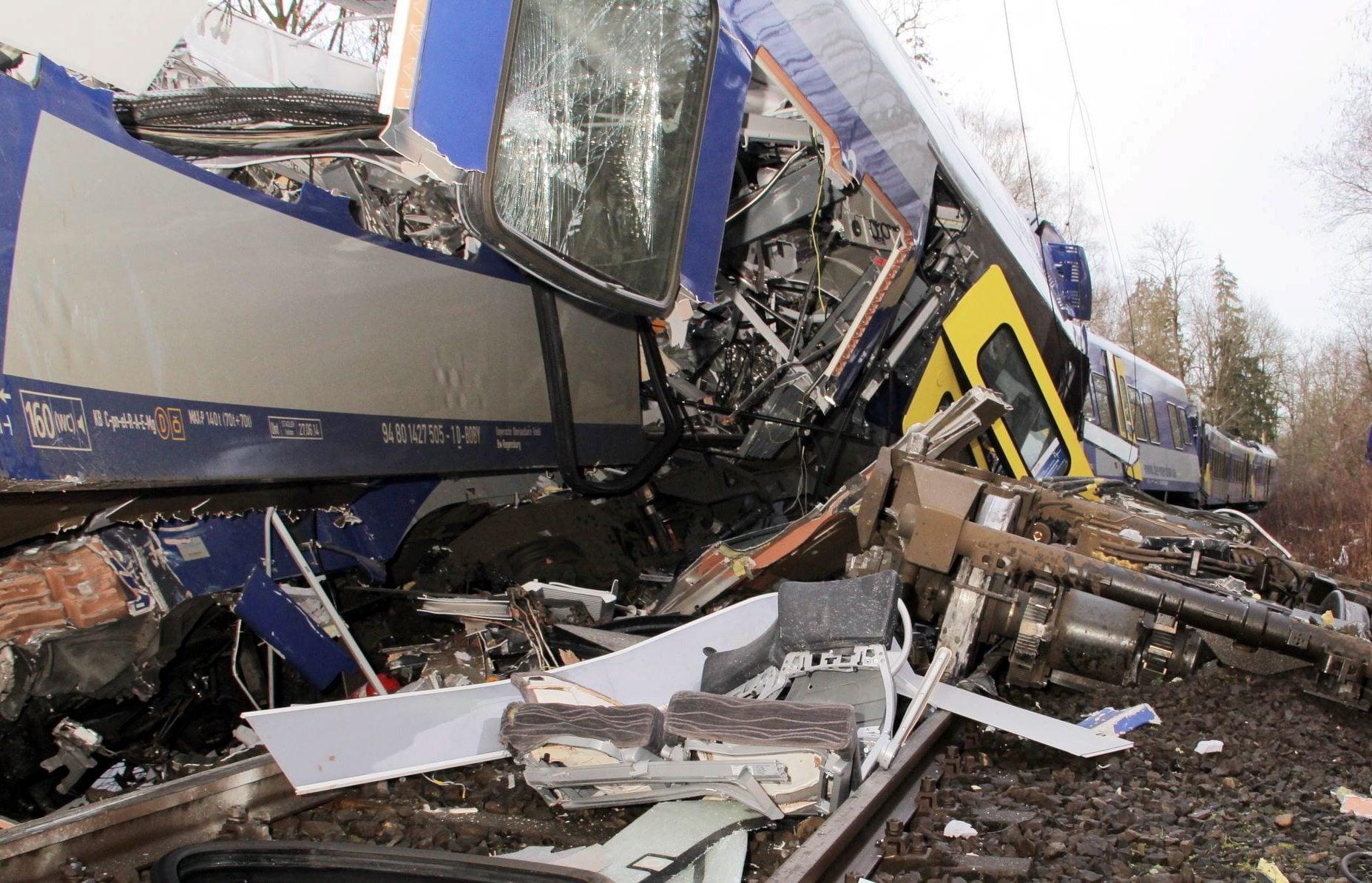 Train crash in Germany kills at least 10, injures 80