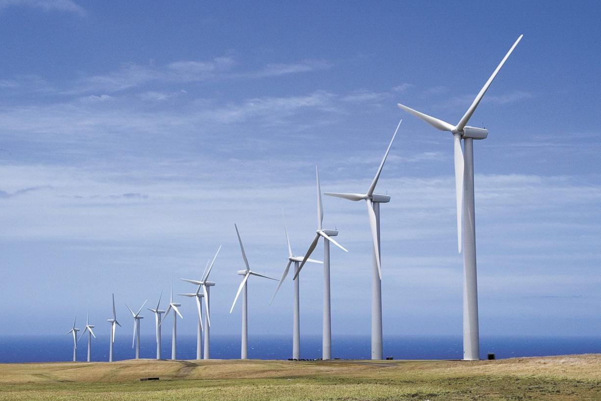 Files/The Associated Press   General Electric said Thursday it has received a $1.4 billion contract to supply wind turbines and related services for a wind farm project in Oregon. ORG XMIT: HIKAT201