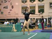 Kalliah McCartney, Sacramento State gymnastics.