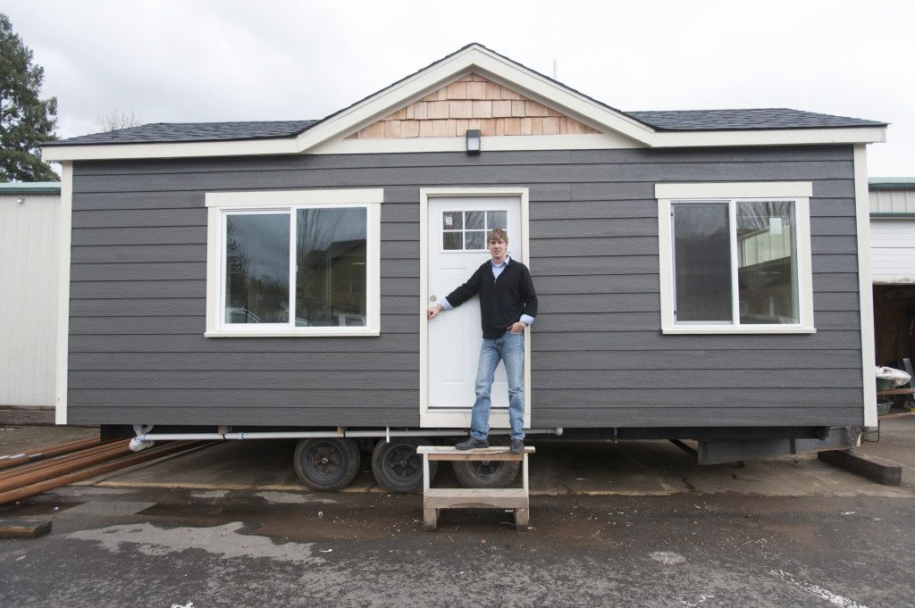 Building momentum for tiny homes | The Columbian on prefabricated homes, small trailers, small portable homes, small homes and cottages, small campers, container homes, modular homes, compact homes, trailer homes, small houses, small movable homes, small rv, micro homes, prefab homes, small motor homes, small condominiums, small manufactured cottages, small rvs, manufactured homes,