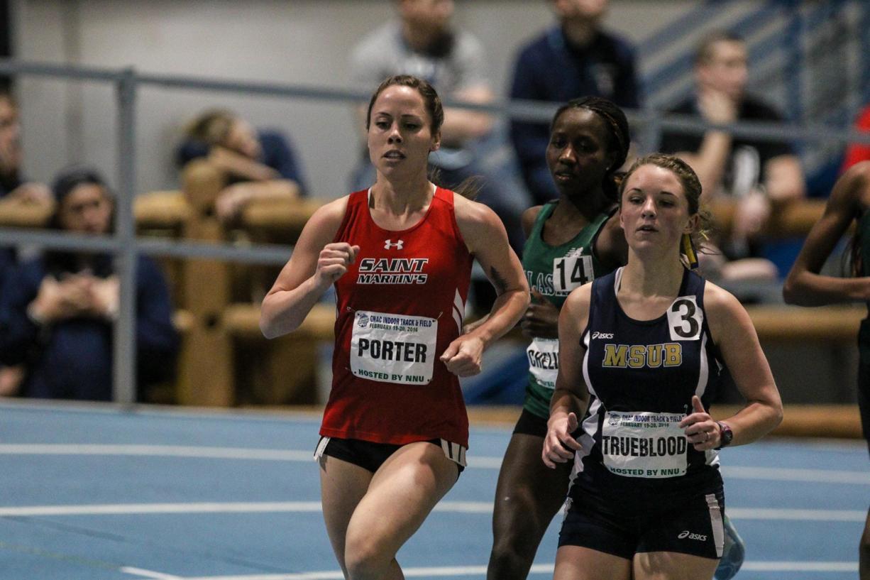 Shannon Porter, Saint Martin's University track and field.
