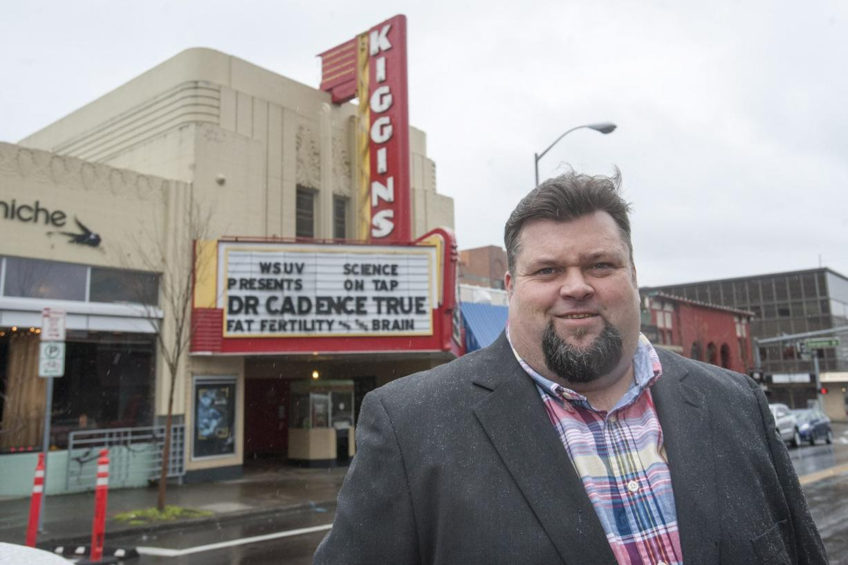 Jeff Waters, founder of the nonprofit Vancouver Filmworks, said he hopes to make Vancouver a center for film production and a laboratory for training in the film industry. Waters is raising money to achieve those goals and produce his first major film. The nonprofit group is hosting a fundraiser on April 9 at Kiggins Theatre in Vancouver.