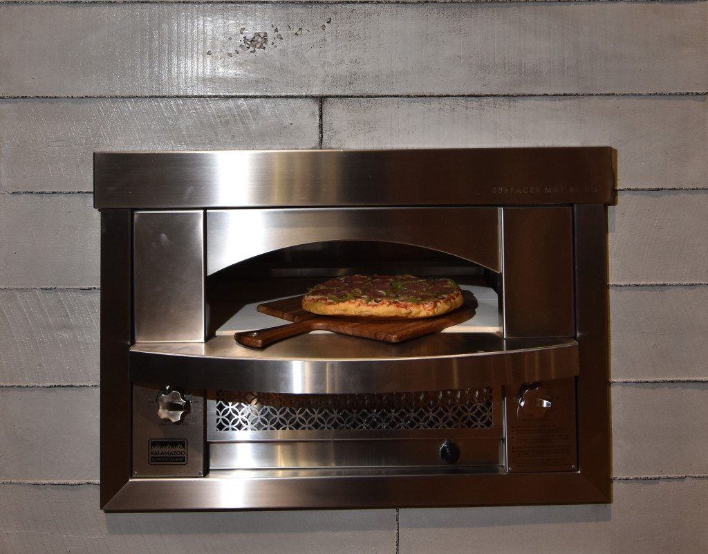 The 8 300 Built In Fire Pizza Oven That Was On Display At Kitchen