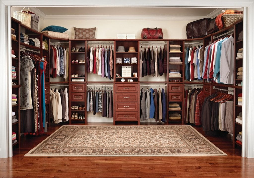 Genial This Closet Organization System Available At Home Depot Offers A Built In  Appearance, But