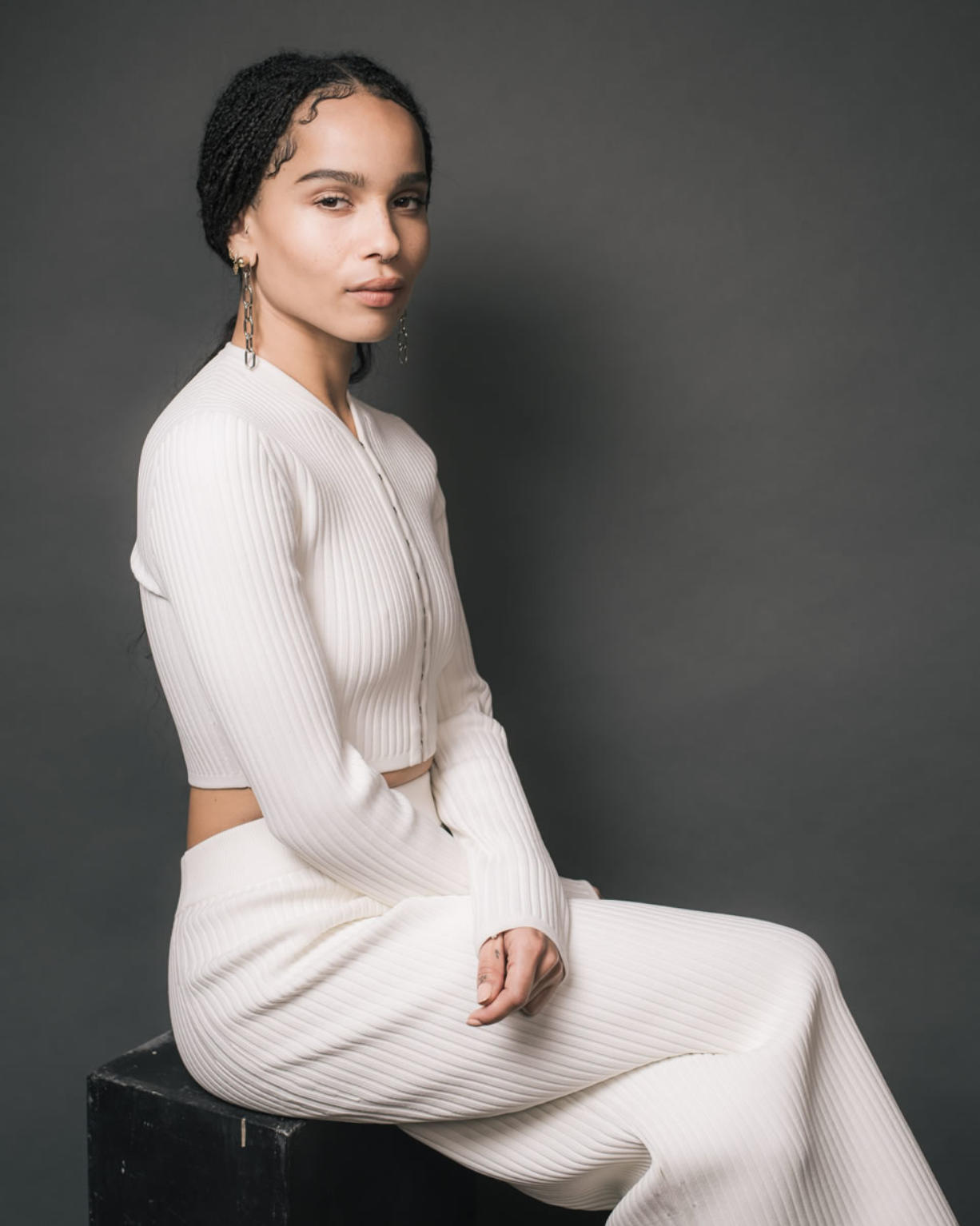 """Actress Zoe Kravitz stars in the film """"The Divergent Series: Allegiant."""" (Casey Curry/Invision)"""