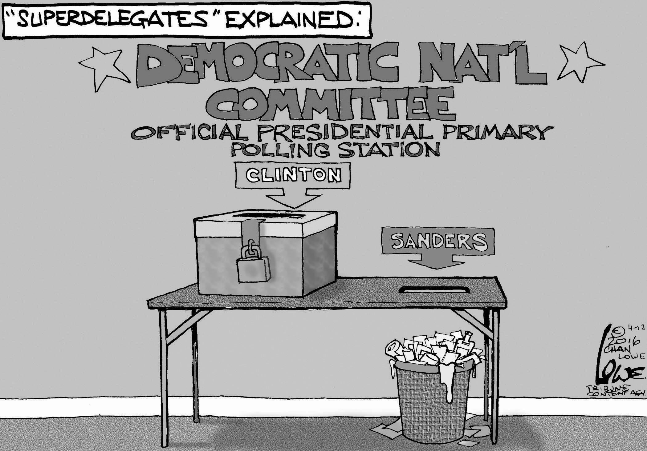 April 16: Superdelegates