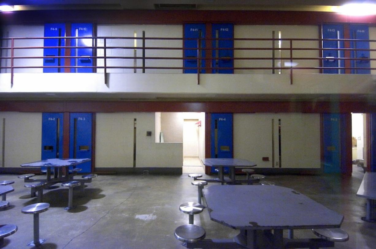 An inmate at Clark County Jail died Friday in what officials are terming an apparent suicide.