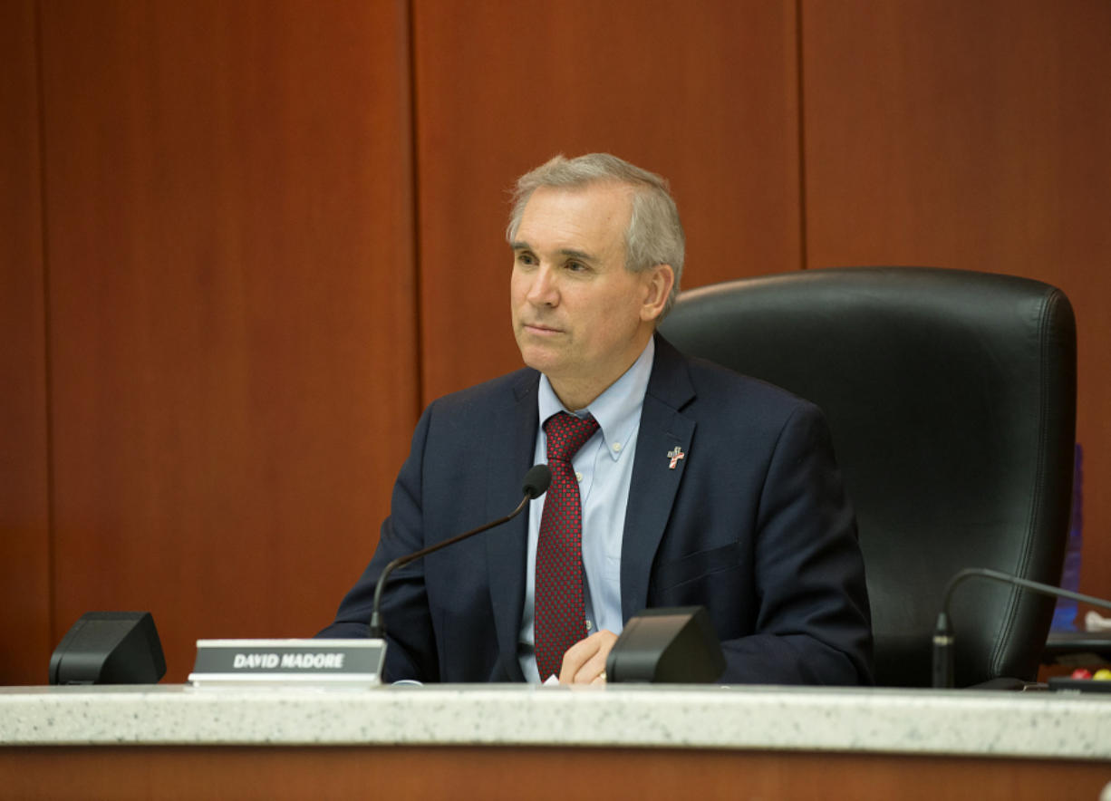 David Madore, Clark County councilor (Columbian files)
