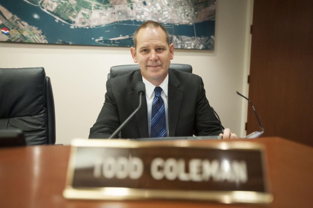 Port of Vancouver CEO Todd Coleman said Tuesday he's stepping down from his position.
