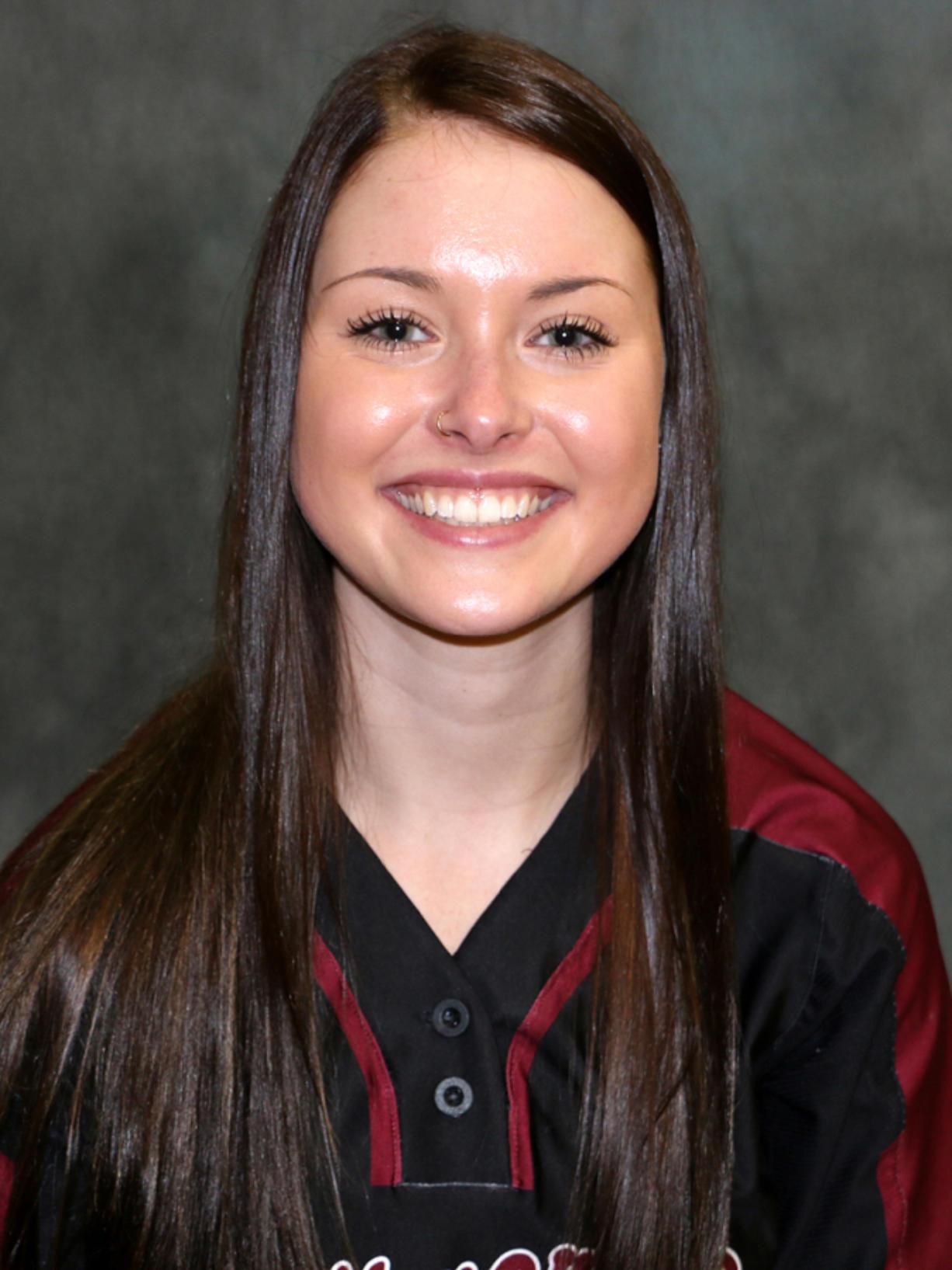 Makayla Lefever, Whitworth University softball.