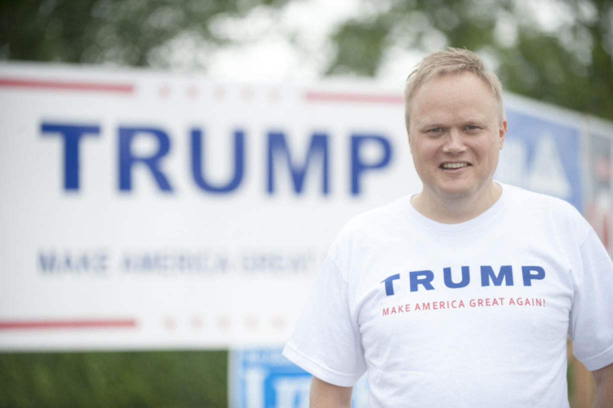 Joel Mattila is the one Donald Trump supporter from Washington state who was chosen as a delegate for the national GOP convention in Cleveland.