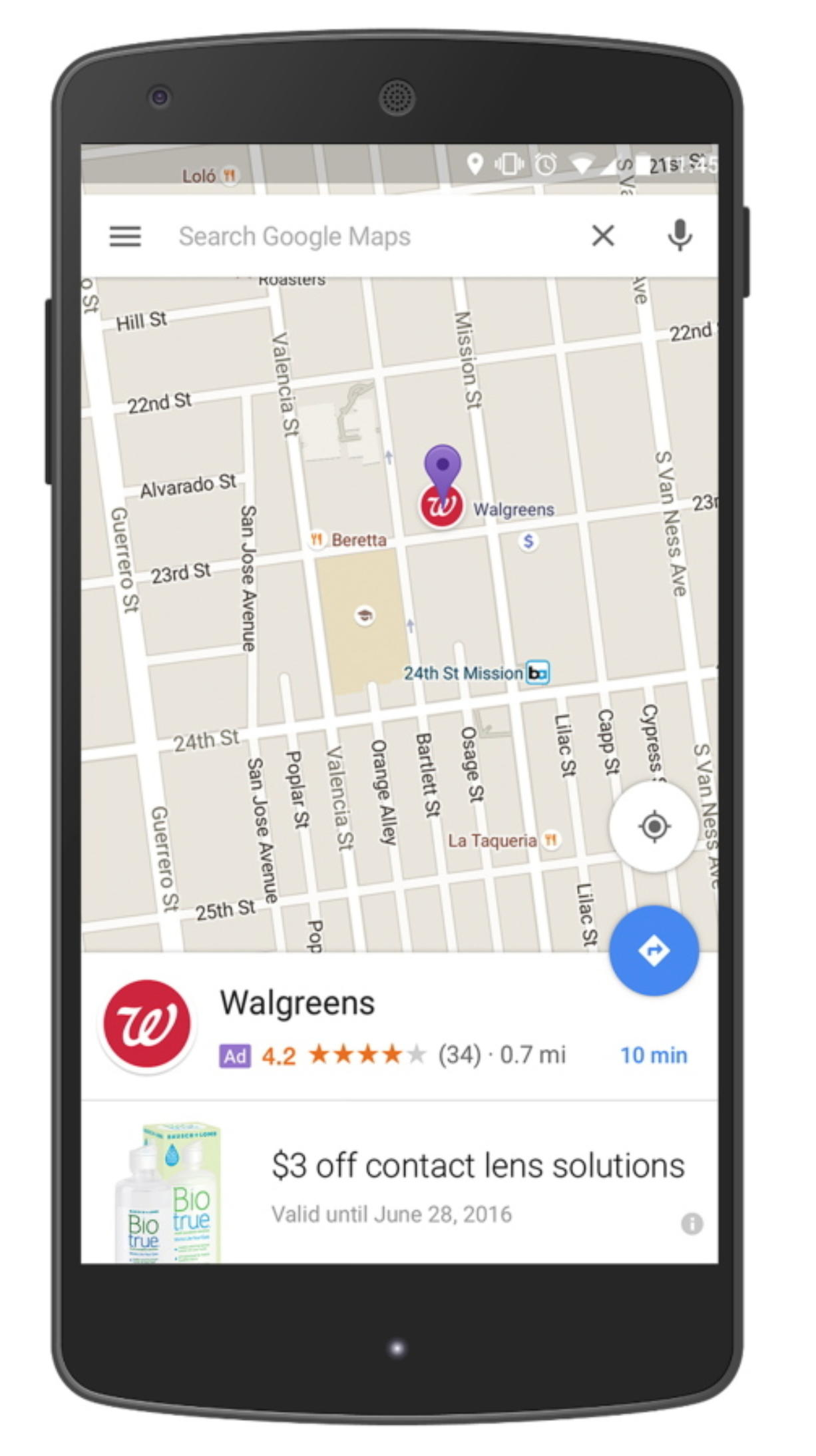 Google Maps directions may soon lead you to … more ads ... on google maps ch, google maps nm, google maps ut, google maps de, google maps il, google maps iowa, google maps karnataka, google maps nv, google maps ad, google maps tx, google maps vt, google maps water, google maps ms, google maps nc, google maps au, google maps ga, google maps oh, google maps wi, google maps nd, google maps ag,