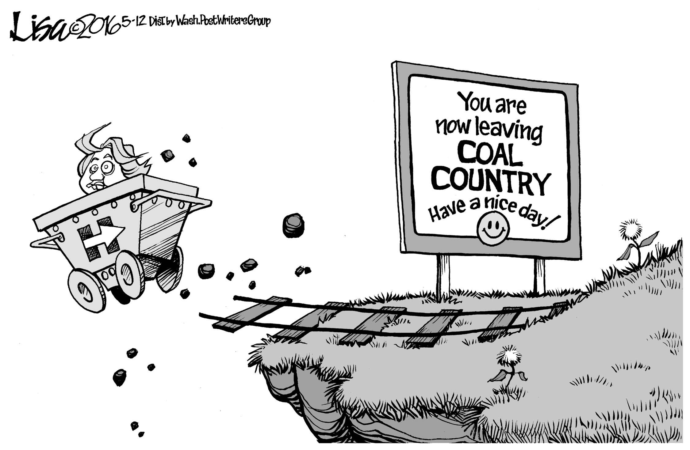 May 14: Hillary And Coal