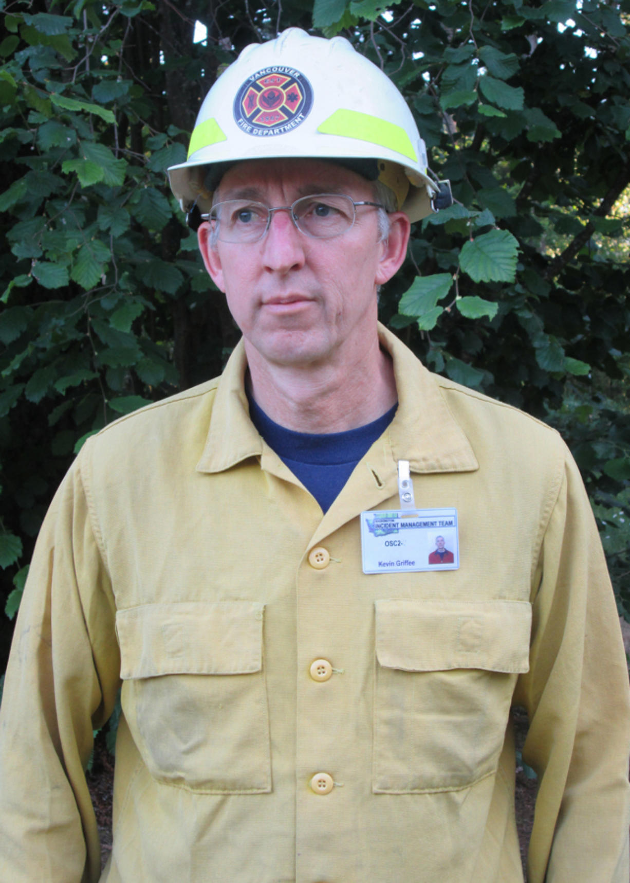 Kevin Griffee, Vancouver Fire battalion chief