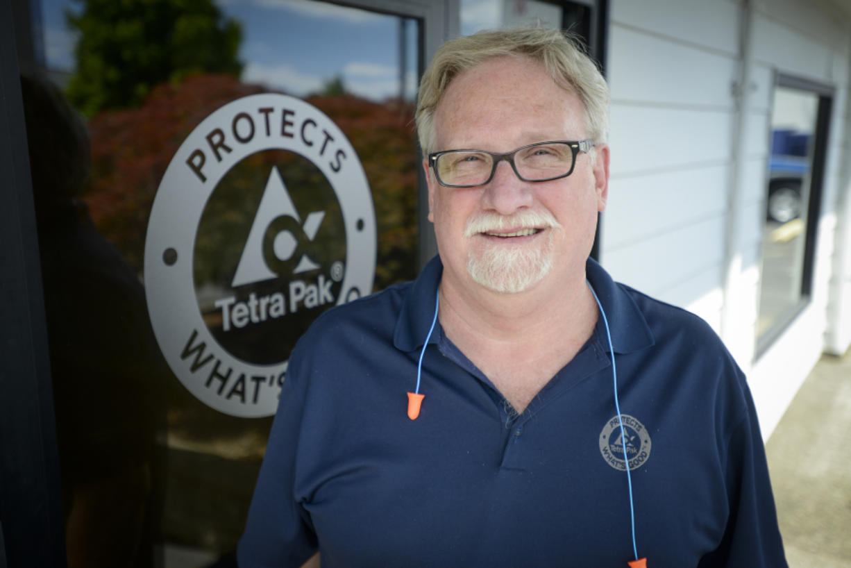 Working in Clark County: Bob Steel, side sealing manager at