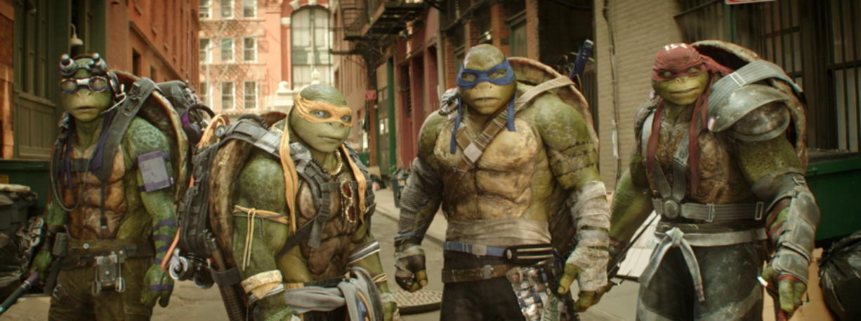 New Ninja Turtles A Cartoon On Steroids Columbian Com