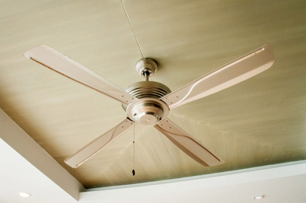 Ceiling Fans Are An Old School But Effective Way Of Cooling A Home Fotolia