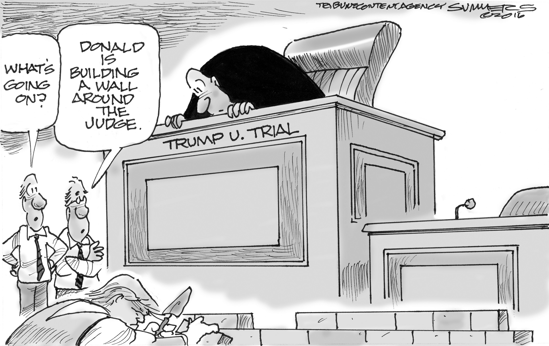 June 11: Trump Wall